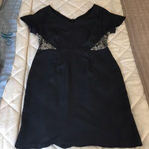 MM Couture black sparkle lace dress
